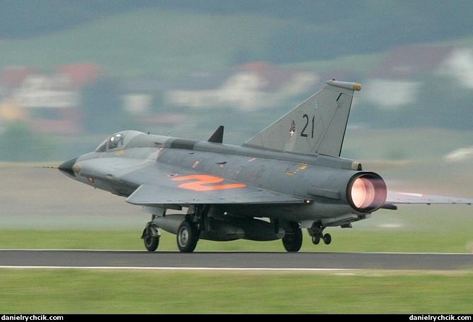 Airpower 05 Saab J35 Draken
