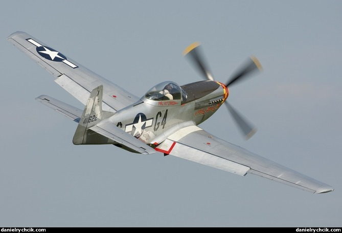 2007 Mustang >> Flugtag Hilzingen 2008 - North American P-51 Mustang