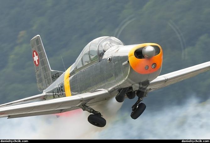 Zigermeet Mollis 2009 Pilatus P3 P3 Flyers